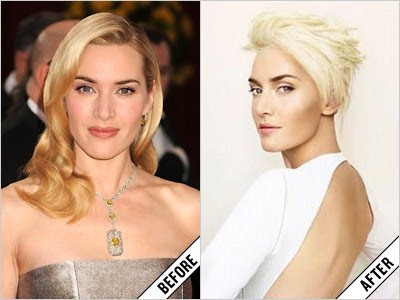 kate winslet before and after makeover 11 amazing new celebrity makeovers 2011