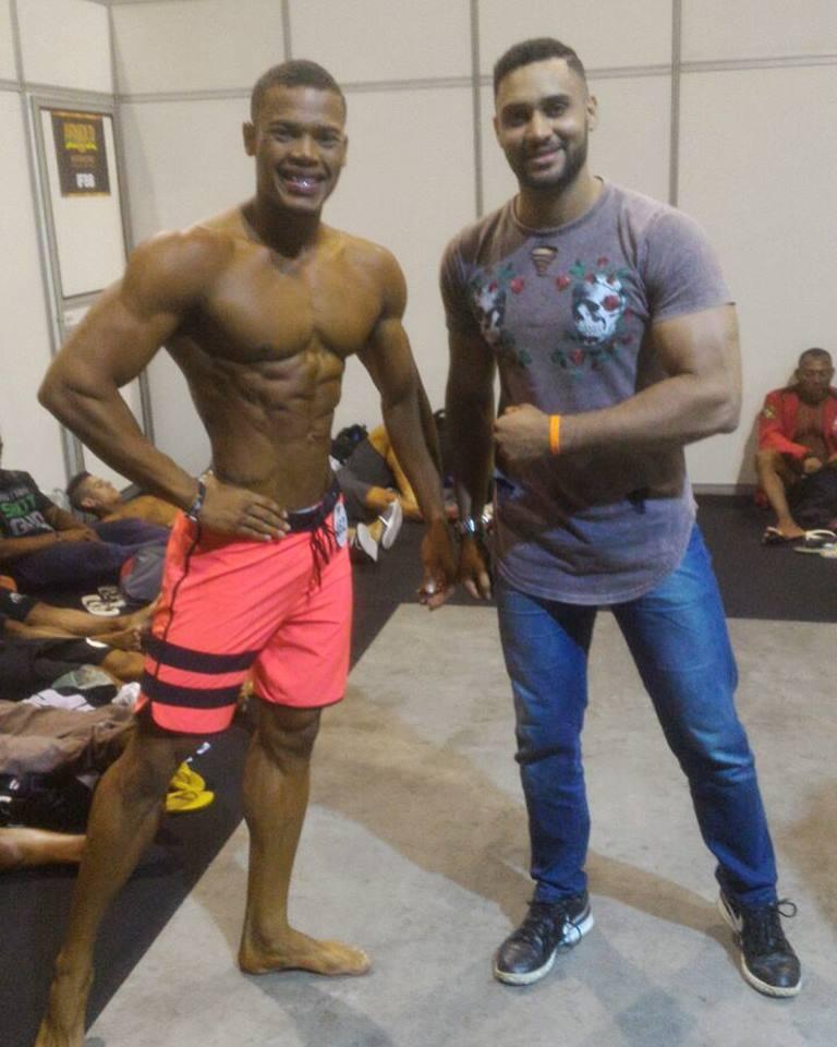Luan Campeão Brasileiro e o Técnico Braúlio