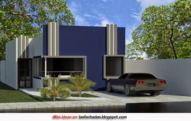 Colores para fachadas de casas feng shui fachadas de for Fachadas oficinas minimalistas
