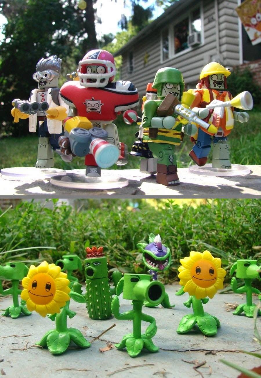 Plants Vs. Zombie Garden Warfare  minimates
