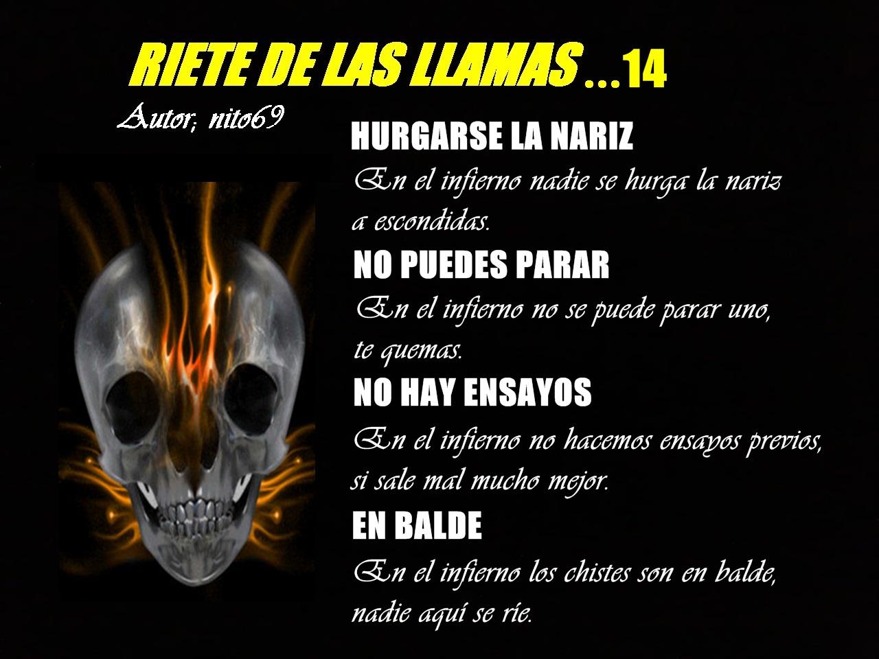 RIETE DE LAS LLAMAS…14