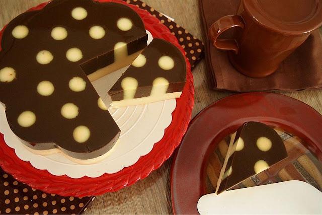 ... , puding kentang tampak enak dan menarik di dalam piring dessert :D