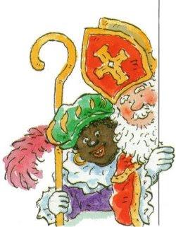 Sinterklaas en zwarte piet !