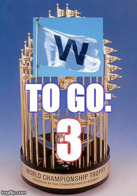 Chicago Cubs 2016 World Championship Countdown