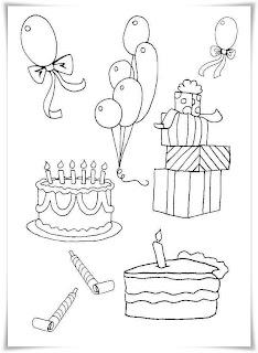Gratis Ausmalbilder Geburtstag - Ausmalbilder zum Thema Geburtstag Geburtstag Alle