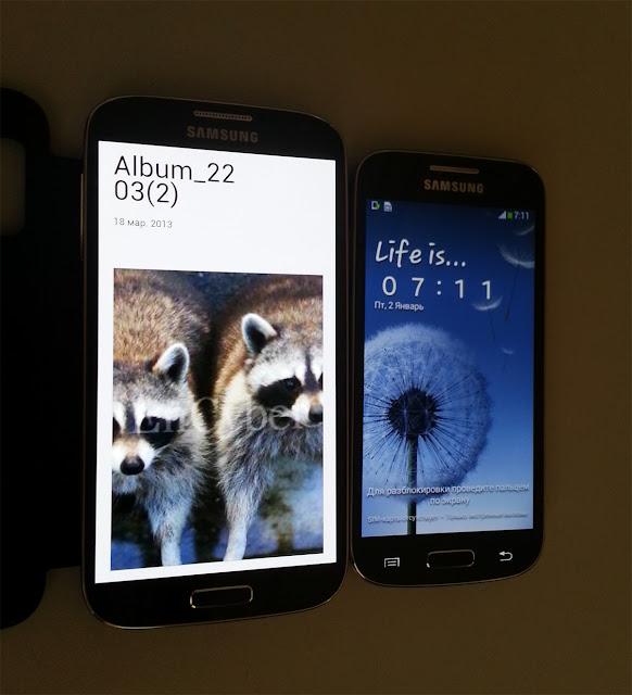 Samsung Galaxy S4 dengan Galaxy S4 Mini