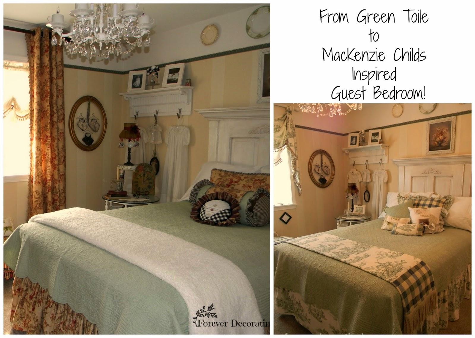 My MacKenzie Childs Inspired Guest Bedroom!