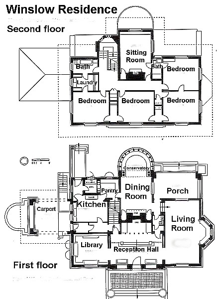 winslow house floor plan