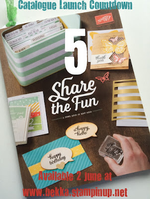 New Catalogue from Stampin' Up! UK available here from 2 June