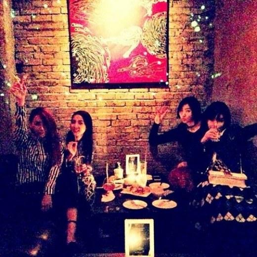 2NE1 Makan Malam Bersama