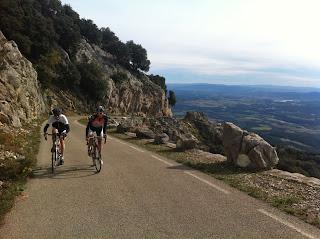 cycling Mare de Deu del Mont
