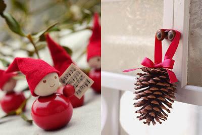 Atours et menus plaisirs le blog d co - Decoration de pomme de pin ...