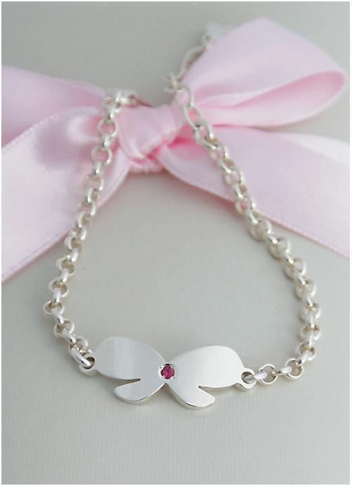 Kaui Silver Ribbon Bracelet