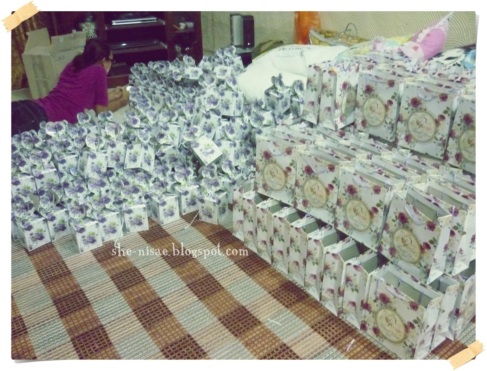 Fantasy oh reality diy doorgift idea for Idea door gift kahwin bajet