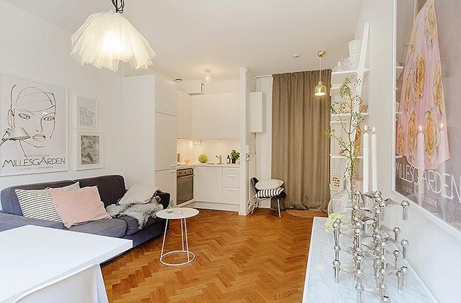 Como decorar un piso de soltera trucos y consejos boho - Como amueblar un piso ...