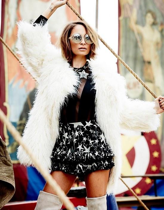 Nicole Richie for Elle Australia July 2014