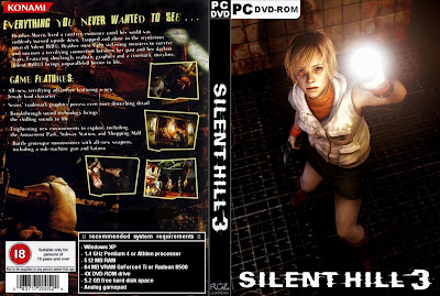 Silent Hill 3 PC DVD Capa
