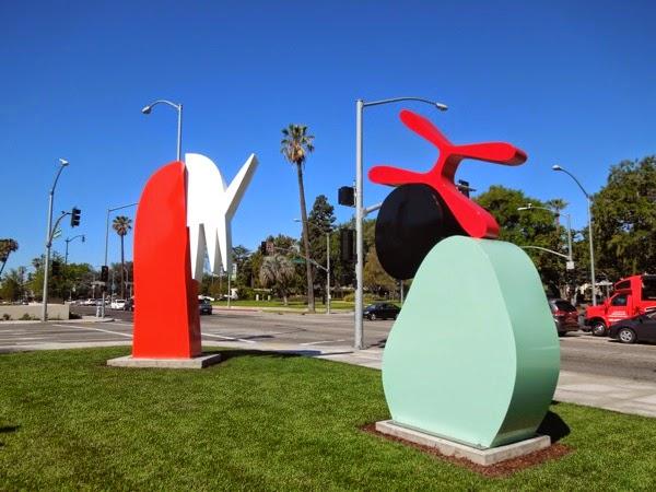 Brad Howe outdoor sculptures Beverly Hills