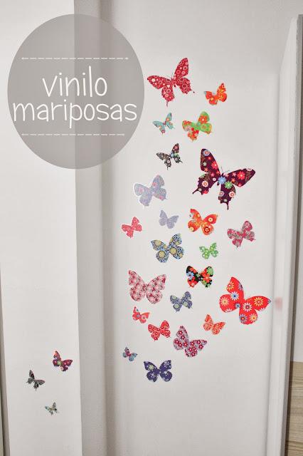 Boho deco chic antes y despues decora con vinilos for Vinilos pared pasillo
