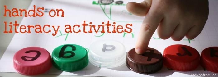 hands on preschool activities crayon freckles on literacy activities for preschoolers 54944