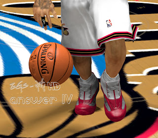 NBA 2K13 Reebok Answer IV Allen Iverson Shoes Mods