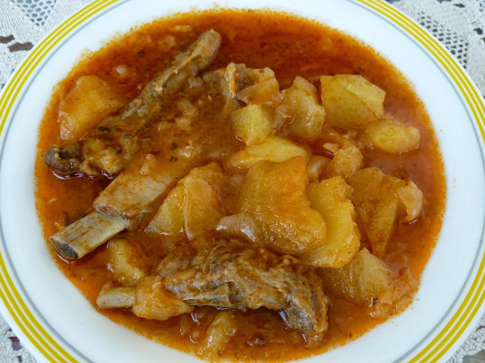 Costillas de cerdo con patatas recetas - Patatas con costillas de cerdo ...