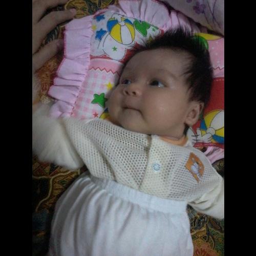 Jumlah keseluruhan duit angpau baby Amirah RM650 & simpan duit dalam bank