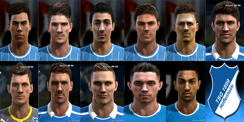 Faces by m4rcelo - Page 10 Facepack-Hoffenheim-Pes2013