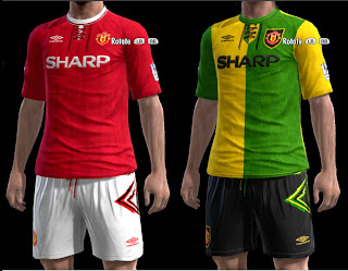 Classic Kits Manchester United by Olmajti