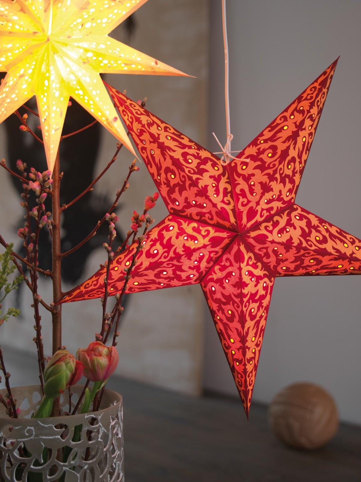 Csillag dekoráció