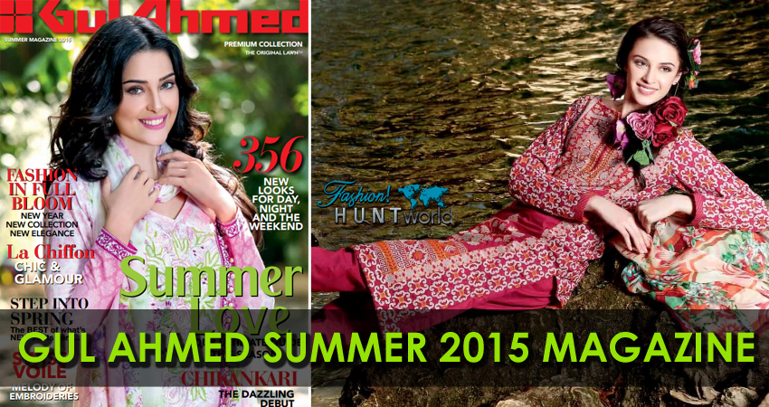 Gul Ahmed Spring Summer 2015 Vol-01 Magazine