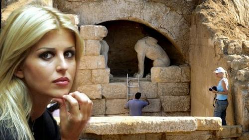 Η Έλενα Ράπτη κόντρα στην Κονιόρδου για την Αμφίπολη