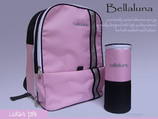 Bellaluna Diaper Bag : Lunatic Backpack Bag