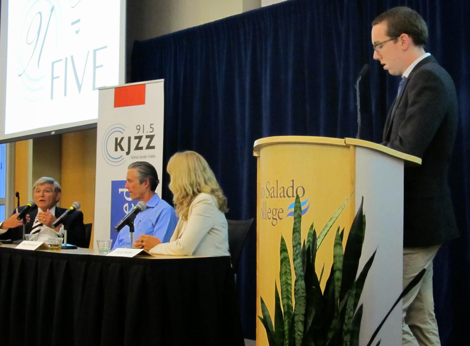 Panel discussion at Rio Salado Conference Center