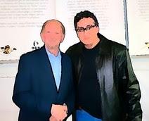 Com o escritor Moacyr Scliar