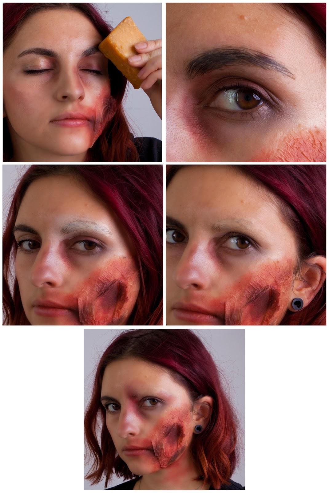 wunden schminken ohne latex