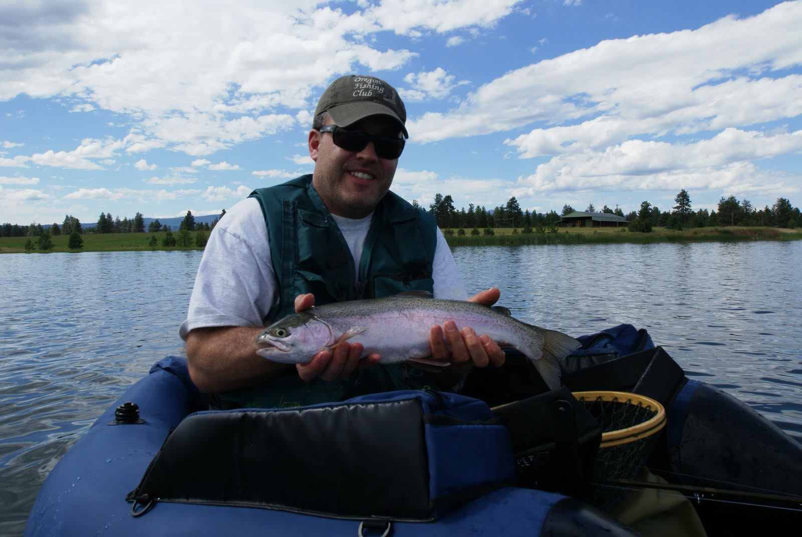 Fly fish oregon water time report fly fishing lakes class for Fly fishing classes