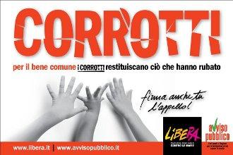 CONTRO LE MAFIE - CAMPAGNE SOCIALI