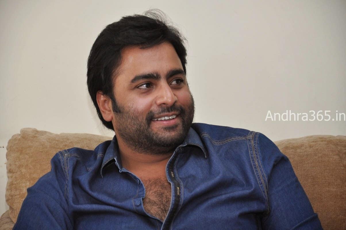 Nara Rohit at Rowdy Fellow Interview