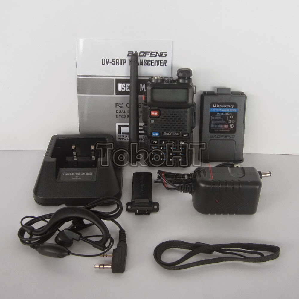 HT Baofeng UV-5RTP Power 5W Dual Band VHF UHF