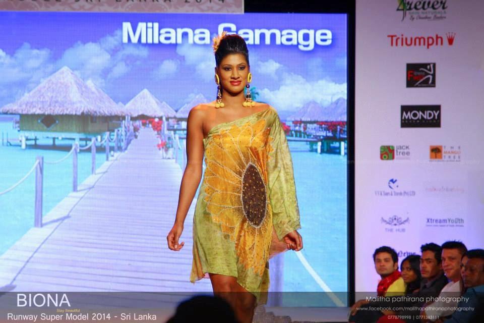 Milana Gamage model