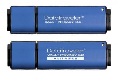 Kingston Luncurkan USB DataTraveler Vault Privacy 3.0 Bisa Otomatis Mengenkripsi Isi Data
