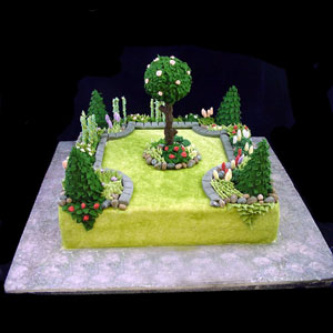 Garden Party Cake Images : imaginary garden with real toads: July 2012