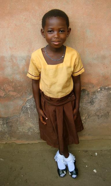 ghana styles  school uniforms in princess town