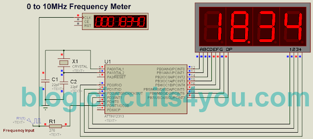ATmega Frequency Meter