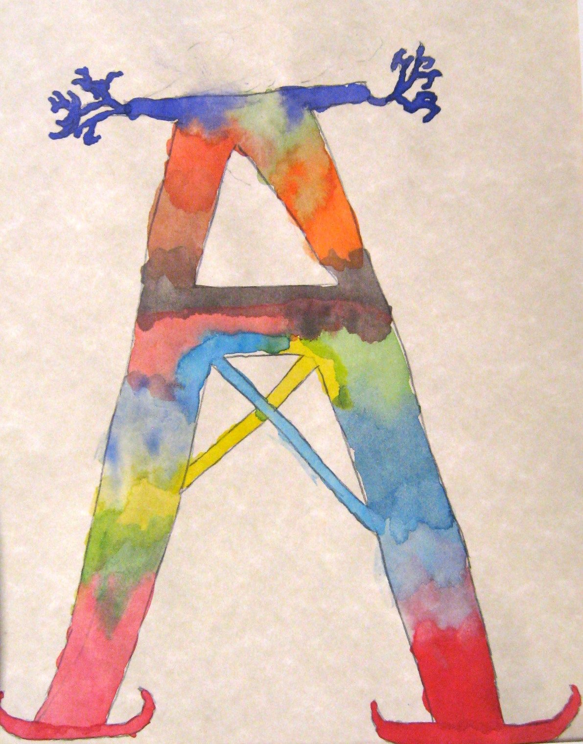 Illuminated Letters Art Project