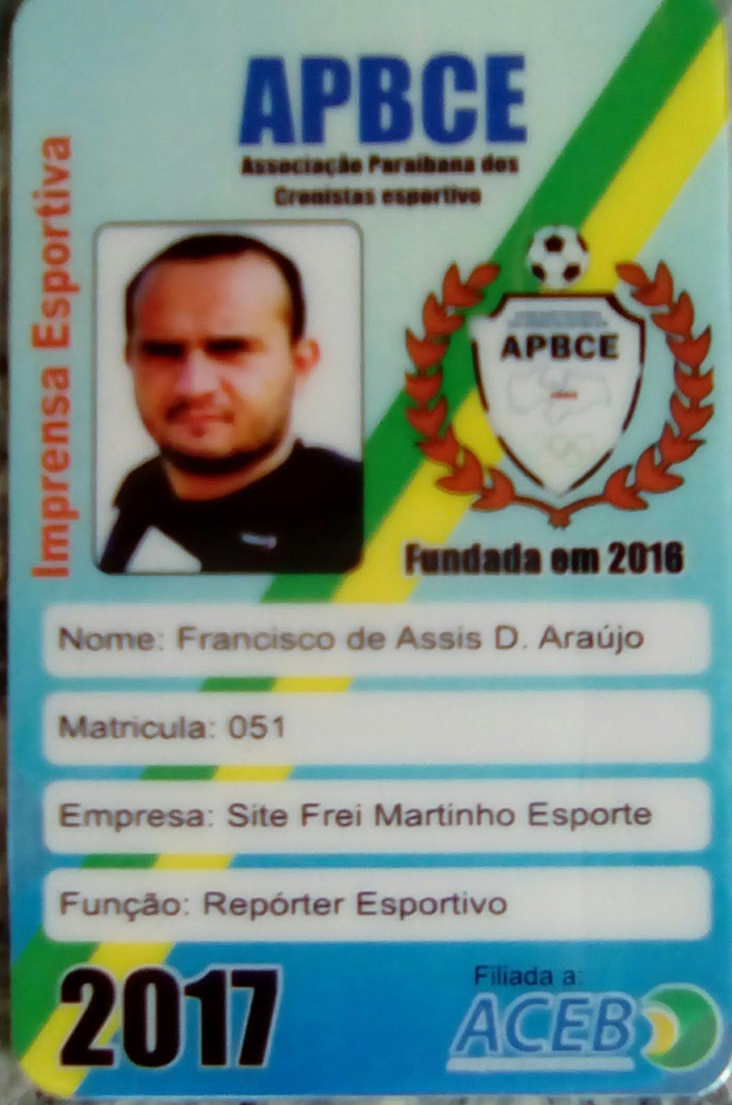Chiqunho Dantas Repórter / Redator do blog