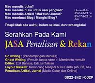 Jasa Penulisan Buku, Artikel dan Jurnal