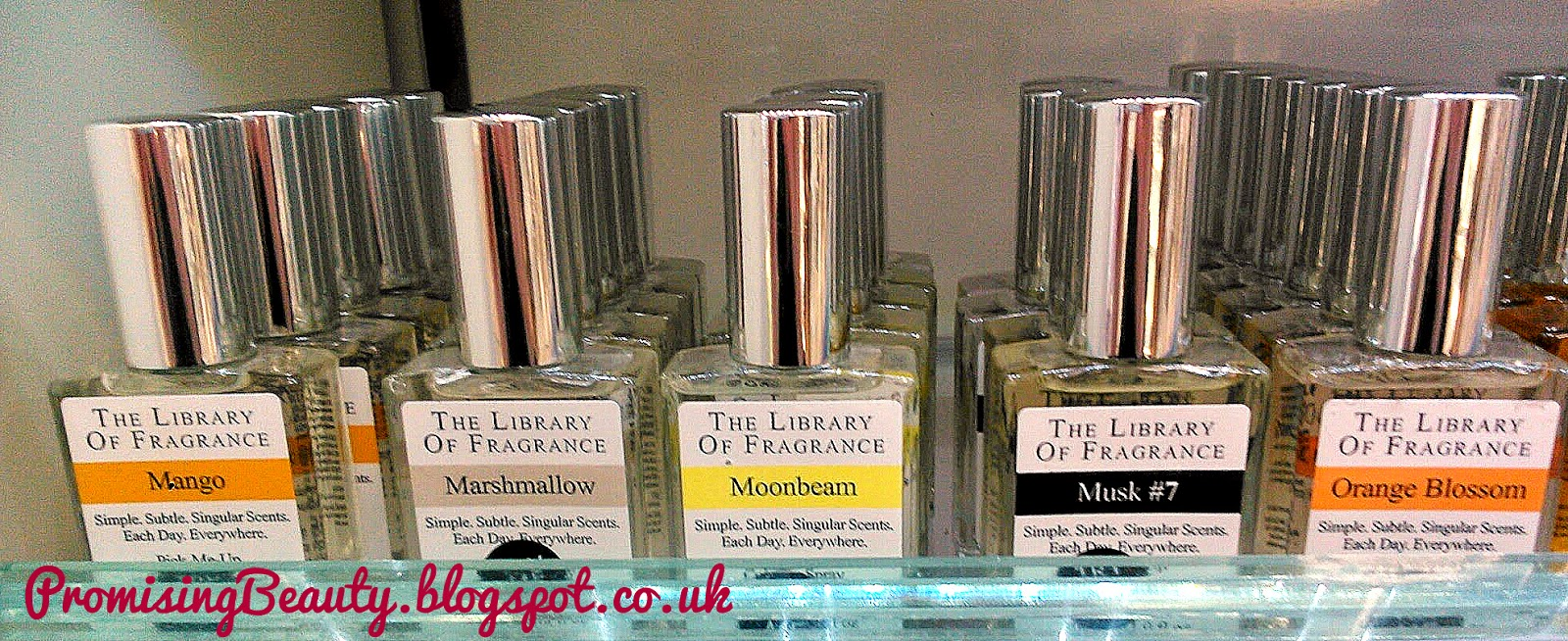 Mango, marshmallow, moonbeam, musk 7, orange blossom