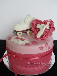 bolo aniversário patins bragança susana doces opções